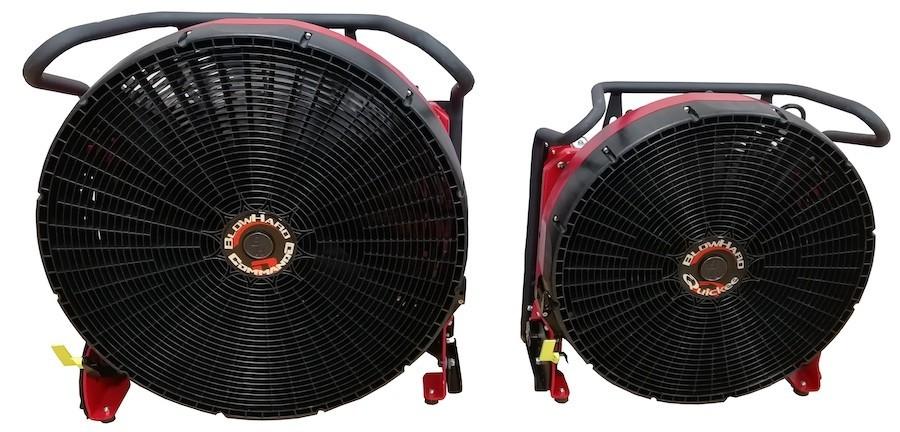 Hispamast revoluciona el mercado de ventiladores de presión positiva a batería con los nuevos BLOWHARD QUICKEE y COMMANDO