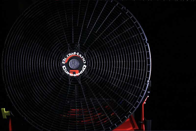 Conoce el ventilador de batería más potente del mercado: Blowhard COMMANDO