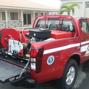 Equipamento de combate a incêndios FIRECO