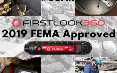 FIRSTLOOK360 se incorpora a la lista de equipamiento de FEMA USAR