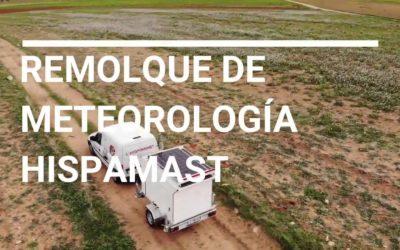 Nuevo remolque de meteorología de Hispamast