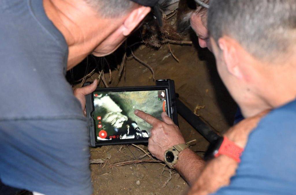 Búsqueda y rescate de un perro con la cámara FIRSTLOOK 360