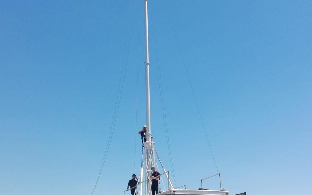 Cómo definir correctamente el mástil telescópico para antenas