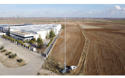 Hispamast entrega a Francia un remolque de telecomunicaciones