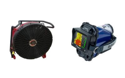 Entrega de ventiladores y cámaras térmicas a la Comunidad de Madrid