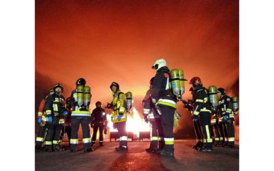 Curso Extinción de incendio de vehículo eléctrico en túnel