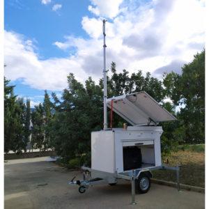Remolques de Antenas, Sensores y Cámaras